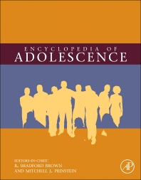Encyclopedia of Adolescence, Three-Volume Set, 1st Edition,B. Bradford Brown,Mitchell Prinstein,ISBN9780123739155