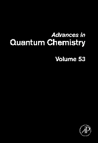 Advances in Quantum Chemistry - 1st Edition - ISBN: 9780123739254, 9780080554525