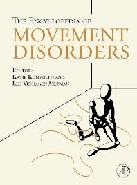 Encyclopedia of Movement Disorders - 1st Edition - ISBN: 9780123741011, 9780123741059
