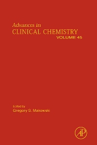 Advances in Clinical Chemistry, 1st Edition,Gregory Makowski,ISBN9780123742087