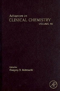 Advances in Clinical Chemistry, 1st Edition,Gregory Makowski,ISBN9780123742094