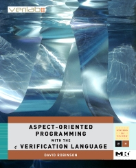 Cover image for Aspect-Oriented Programming with the e Verification Language