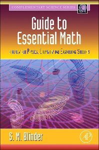 Guide to Essential Math, 1st Edition,Sy Blinder,ISBN9780123742643