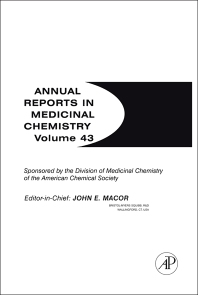 Annual Reports in Medicinal Chemistry, 1st Edition,John Macor,ISBN9780123743442