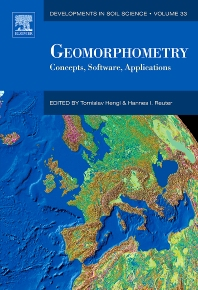 Cover image for Geomorphometry