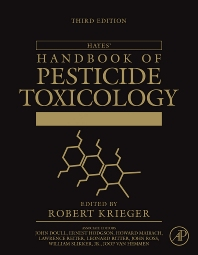 Hayes' Handbook of Pesticide Toxicology, 3rd Edition,Robert Krieger,ISBN9780123743671