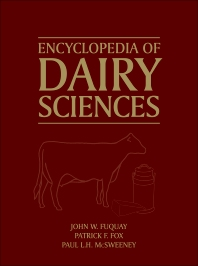 Encyclopedia of Dairy Sciences - 2nd Edition - ISBN: 9780123744074