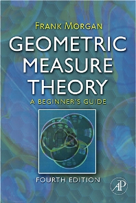 Geometric Measure Theory, 4th Edition,Frank Morgan,ISBN9780123744449