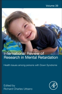 Health issues among persons with down syndrome, 1st Edition,Richard Urbano,ISBN9780123744777