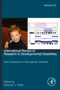 Early development in neurogenetic disorders, 1st Edition,Deborah J Fidler,ISBN9780123744784
