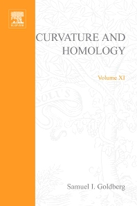 Curvature and homology - 1st Edition - ISBN: 9780123745620, 9780080873237