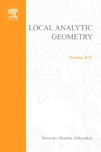 Local analytic geometry - 1st Edition - ISBN: 9780123745644, 9780080873268