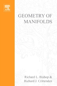 Cover image for Geometry of manifolds