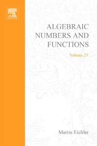 Introduction to the Theory of Algebraic Numbers and Fuctions - 1st Edition - ISBN: 9780123745705, 9780080873350