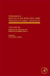 Molecular Biology of Protein Folding, Part A, 1st Edition,P. Michael Conn,ISBN9780123745941