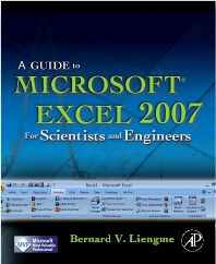 Cover image for A Guide to Microsoft Excel 2007 for Scientists and Engineers