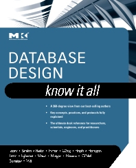 Database Design: Know It All - 1st Edition - ISBN: 9780123746306, 9780080877891