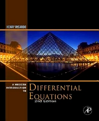 A Modern Introduction to Differential Equations, 2nd Edition,Henry Ricardo,ISBN9780123747464