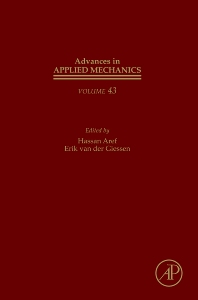 Advances in Applied Mechanics, 1st Edition,Erik van der Giessen,Hassan Aref,ISBN9780123748133