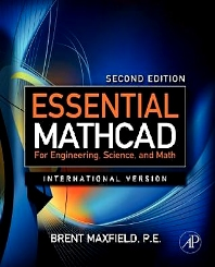 Cover image for Essential Mathcad for Engineering, Science, and Math ISE