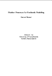 Cover image for Student Solutions Manual for Markov Processes for Stochastic Modeling