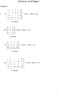 Cover image for Student Solutions Manual, Matrix Methods