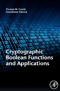 Cryptographic  Boolean  Functions and Applications, 1st Edition,Thomas Cusick,Pantelimon Stanica,ISBN9780123748904