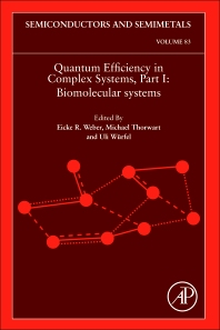 Quantum Efficiency in Complex Systems, Part I, 1st Edition,Eicke Weber,ISBN9780123750426