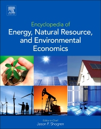 Cover image for Encyclopedia of Energy, Natural Resource, and Environmental Economics