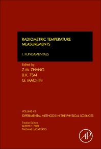 Radiometric Temperature Measurements, 1st Edition,Zhuomin Zhang,Benjamin Tsai,Graham Machin,ISBN9780123750914
