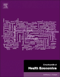 Cover image for Encyclopedia of Health Economics