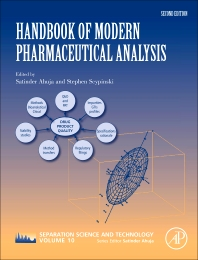 Cover image for Handbook of Modern Pharmaceutical Analysis