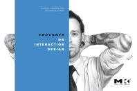 Cover image for Thoughts on Interaction Design