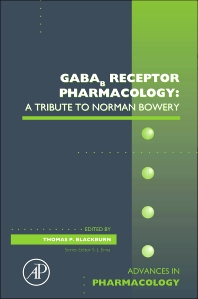 GABAb Receptor Pharmacology: A Tribute to Norman Bowery, 1st Edition,Thomas Blackburn,ISBN9780123786470