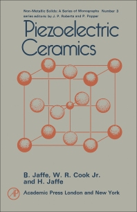Cover image for Piezoelectric Ceramics