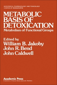 Metabolic Basis of Detoxication - 1st Edition - ISBN: 9780123800602, 9780323137997