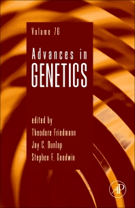 Advances in Genetics, 1st Edition,Theodore C. Friedman,Stephen F. Goodwin,ISBN9780123808608