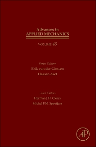 Advances in Applied Mechanics, 1st Edition,Erik van der Giessen,Hassan Aref,ISBN9780123808769