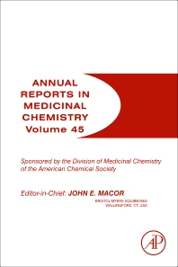 Annual Reports in Medicinal Chemistry, 1st Edition,John Macor,ISBN9780123809025
