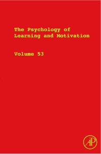 The Psychology of Learning and Motivation, 1st Edition,Brian Ross,ISBN9780123809063