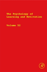 The Psychology of Learning and Motivation - 1st Edition - ISBN: 9780123809087, 9780123809094