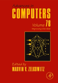 Cover image for Advances in Computers