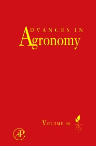 Advances in Agronomy v106, 1st Edition,Donald L Sparks,ISBN9780123810359