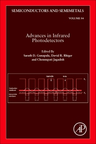 Advances in Infrared Photodetectors, 1st Edition,Chennupati Jagadish,Sarath Gunapala,David Rhiger,ISBN9780123813374
