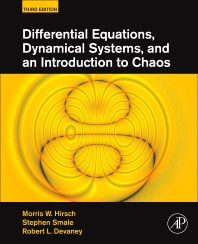 Differential Equations, Dynamical Systems, and an Introduction to Chaos, 3rd Edition,Morris W. Hirsch,Stephen Smale,Robert L. Devaney,ISBN9780123820105