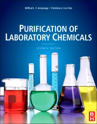 Purification of Laboratory Chemicals, 7th Edition,W.L.F. Armarego,Christina Chai,ISBN9780123821614