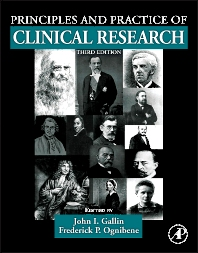Principles and Practice of Clinical Research, 3rd Edition,John Gallin,Frederick Ognibene,ISBN9780123821676