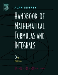 Cover image for Handbook of Mathematical Formulas and Integrals