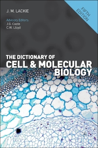 The Dictionary of Cell and Molecular Biology - 5th Edition - ISBN: 9780123849311, 9780123849328