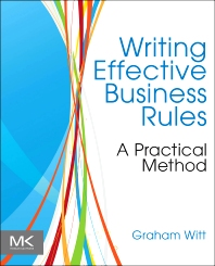Cover image for Writing Effective Business Rules